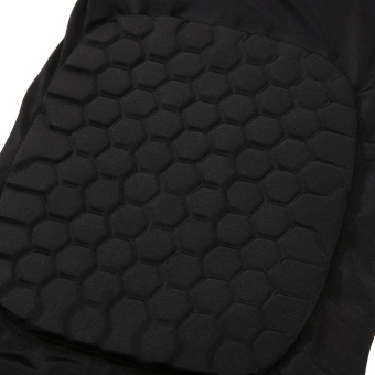 Basketball Knee Support Honeycomb Sponge Pad (Black M) - intl