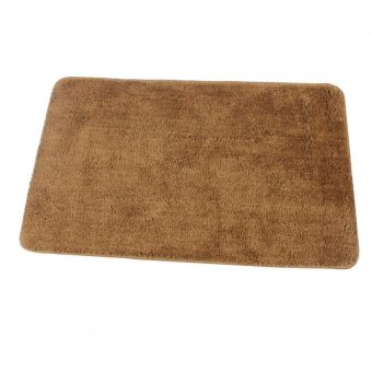 Bathlux Non slip Soft Absorbent Floor Mat Door Mat Bath Mat (Brown)