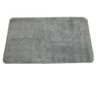 Bathlux Non slip Soft Absorbent Floor Mat Door Mat Bath Mat (Grey)