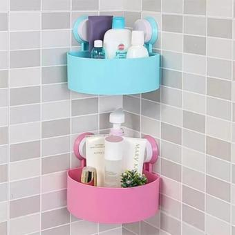 Bathroom Kitchen Corner Storage Shelf Holder Organizer 2 of set