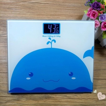 Bathroom Scales Intelligent electronic scales weight scales (4#) -Intl