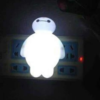BayMax LED Night Light Bedroom Bulb Energy Saving Cute Lamp Home