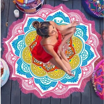 Beach Towel Mandala (LOTUS PINK) Price Philippines