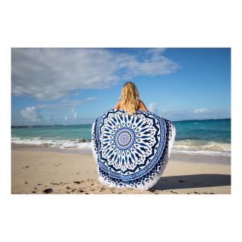 Beach Towel Mat Yoga Mat (design may vary) - 2