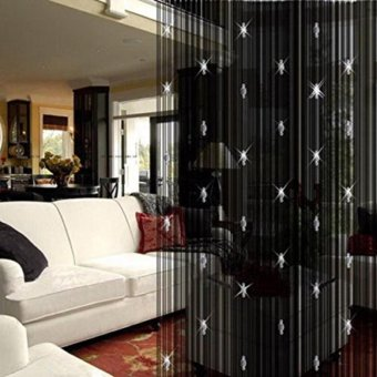 Beauty Decorative String Bead Curtain for Door Window Panel Room Divider - intl