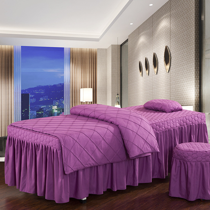 Beauty Salon Spa Body Massage Bed Sheets
