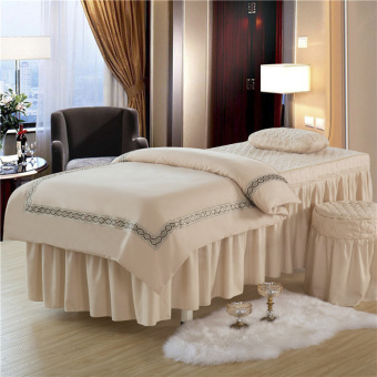 Beauty Salon spa fumigation massage therapy bed beauty bedspread