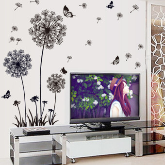 Bedroom living room TV sofa background wall stickers