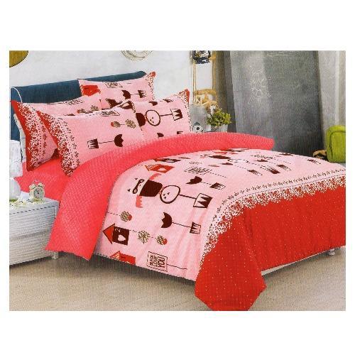 Bedtime Double Size 3 Piece Bedsheet Set