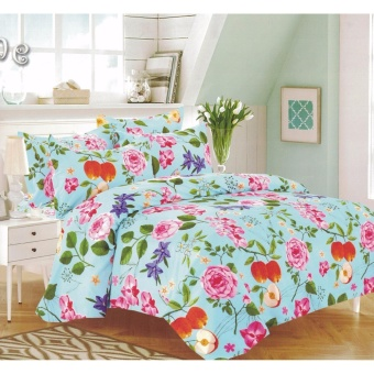 Bedtime Queen Size 4 Piece Bedsheet Set