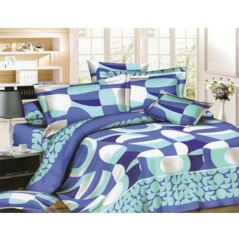 Bedtime Queen Size 4-piece Bedsheet Set (Bel-Air)