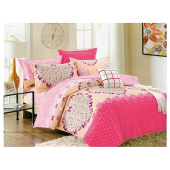 Bedtime Queen Size 4 piece Bedsheet Set (Candice)