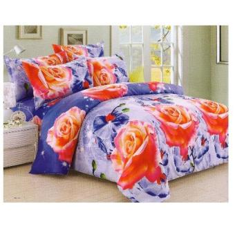 Bedtime Twin Size 3 Piece Bedsheet Set