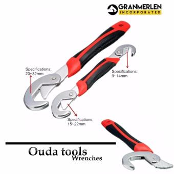 Best Selling Ouda Tools Universal Wrenches 2-piece Set (Black/Red) - 2