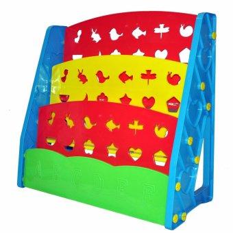 Bestbaby Children's Bookshelf Rainbow - 2