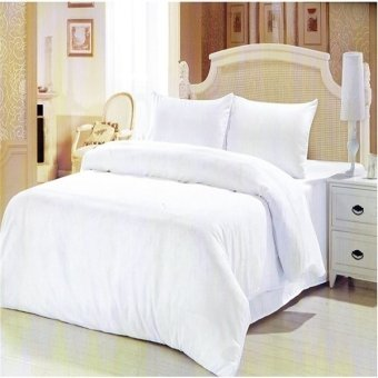 Beverly's Linen Collection Bedsheet (White) Price Philippines