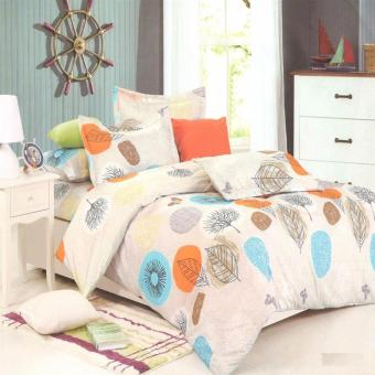 Beverly's Linen Collection Comforter Set of 4(Design-016)Twin(Single)