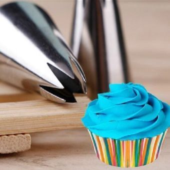 Big Flower Icing Piping Tips Nozzle Cake Decorating Pastry Tool - intl