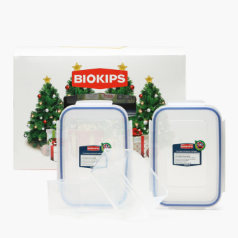 Biokips Food Container 670mL and 900mL Set Price Philippines