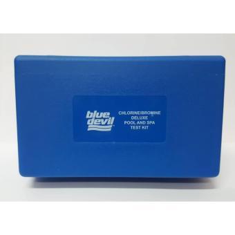 Blue Devil Chlorine/Bromine Deluxe Pool and Spa 5-in-1 Test Kit - 5