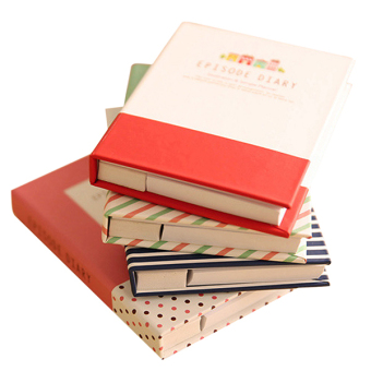 Bluelans Sticky Notes Notebook Memo Pad Paper Sticker Notepad Office Stationery Pen -