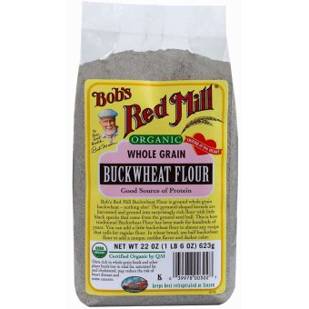 Bob's Red Mill Organic Whole Grain Buckwheat Flour 623g