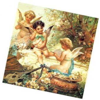 BolehDeals DIY 5D Diamond Painting Angel Embroidery Cross Stitch Kit Home Decor Crafts - intl
