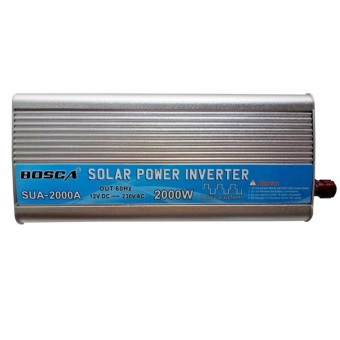 Bosca SUA-2000A 2000W 12V DC To 230V Mute enhandced version Car Home AC Solar energy emergency power supply Inverter #0124