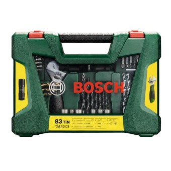Bosch Drill Bit and Screwdriver Bit Accessory Set with LED Torch and Adjustable Spanner (83-Piece) - 2