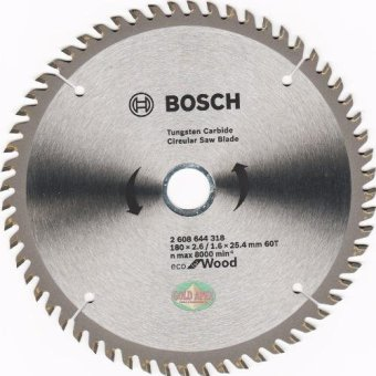 "Bosch ECO Circular Saw Blade 7""x60T Price Philippines"