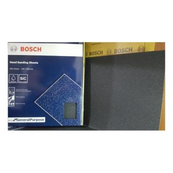 Bosch General Purpose Wet or Dry Hand Sanding Sheet Grit# 220 Price Philippines