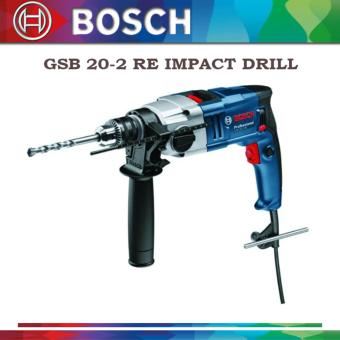 Bosch GSB 20-2 RE Impact Drill (Blue/Black)