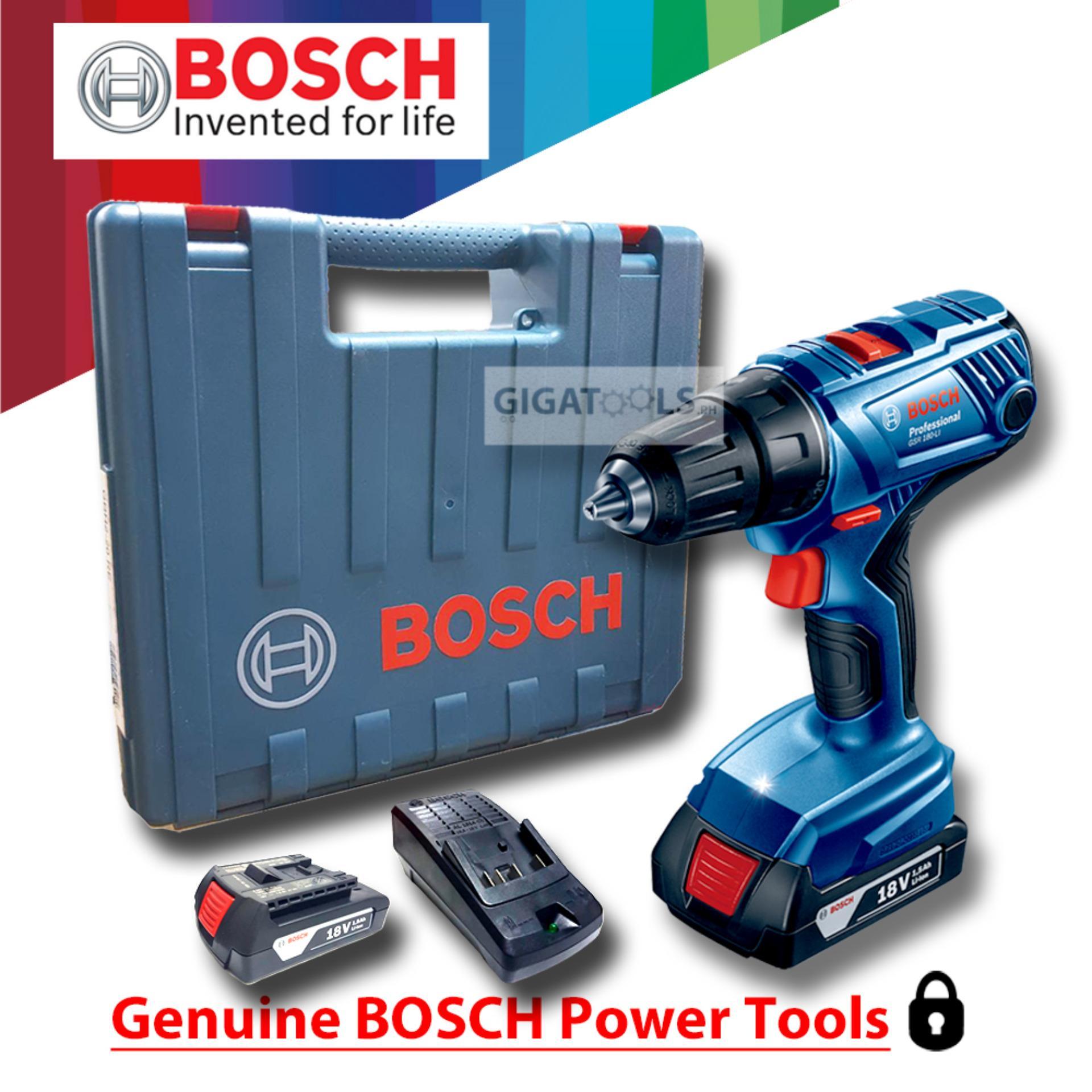 bosch gsr 180 li professional cordless drill driver 18v philippines. Black Bedroom Furniture Sets. Home Design Ideas
