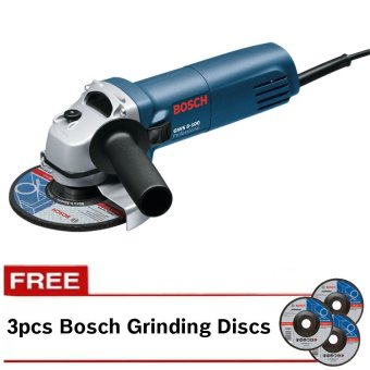 Bosch GWS 5-100 Professional Angle Grinder with FREE Grinding Disc (Grey)