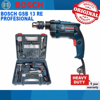Bosch Professional Impact Drill Set GSB 13 RE Hand Tools