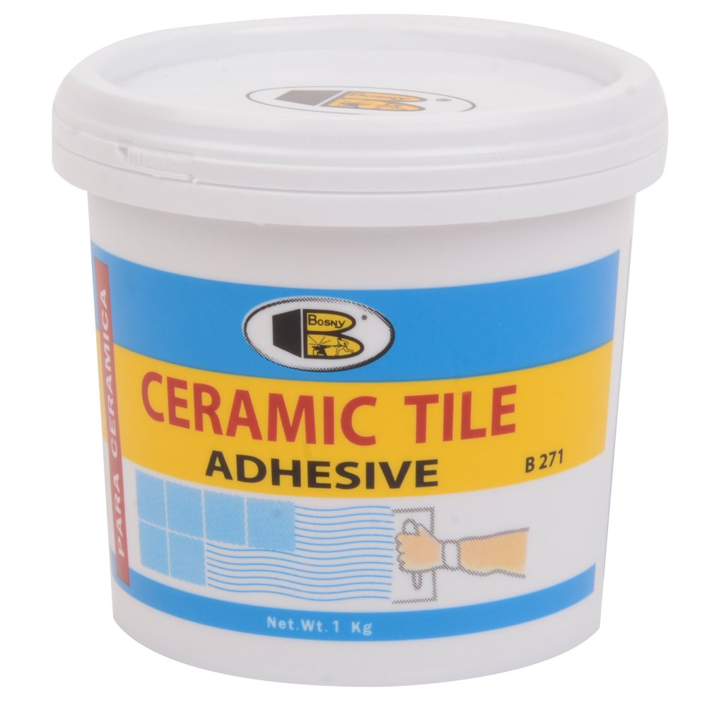 Glue ceramic tile