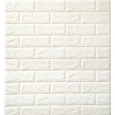 Brick Stone Textured 3D Waterproof Creative Self Adhesive Foam Wall Sticker  Home Décor Wall Stickers