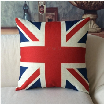 British Flag Pillowcase Throw Pillow - intl Price Philippines