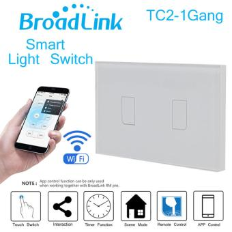 Broadlink TC2-2 Gang AC 170V-240V Smart Home Remote Wireless LightController Wifi Control US Plug - intl