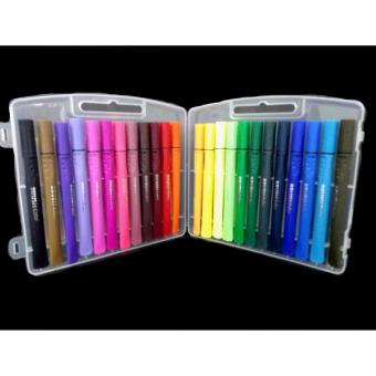 Brush Colored Pen - Assorted Colors 24's