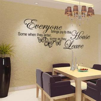 Butterfly Art Vinyl Removable Quote Decal Mural Room Decor Home Wall Sticker