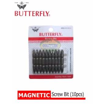 Butterfly Magnetic Screw Bit (10pcs)