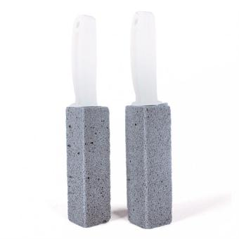 BUYINCOINS 2Pcs Water Toilet Bowl X - Pumice Cleaner Wand