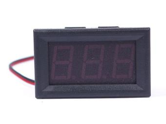 BUYINCOINS DC 0-30V LED 3-Digital Display Voltmeter Blue