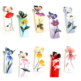 Buytra Mini Bookmark Butterfly Shape 2Pcs