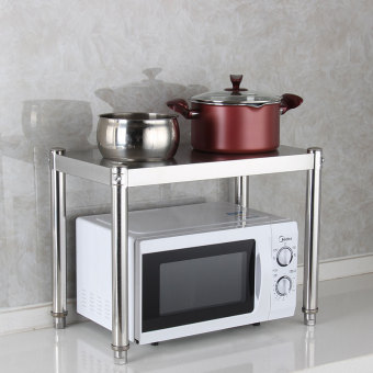 Cabinet table stove storage rack stainless steel rack