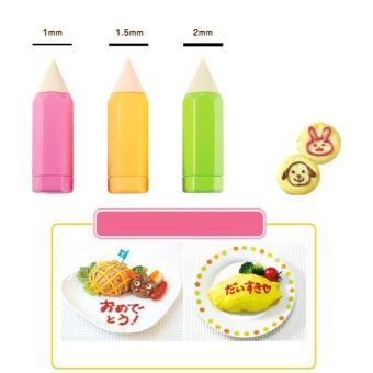 Cake Decorating Pen Pastry Icing Piping Pen Fondant Cake SugarCraft Decor Tools by LuckyG - intl
