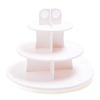 Cake Pop and Cupcake Stand (White) Price Philippines