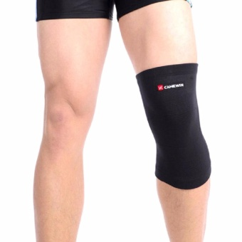 CAMEWIN Brand Knee Support Protector Prevent Arthritis Injury HighElastic Knee pad Sports Outdoor Knee Guard Keep Warm (Large)