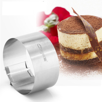 Can be retractable cake ring cut cake is mousse Mold